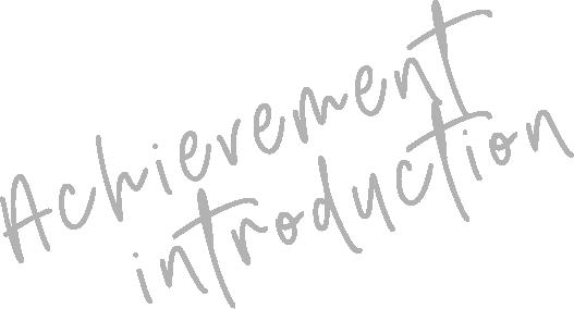 Achievement introduction